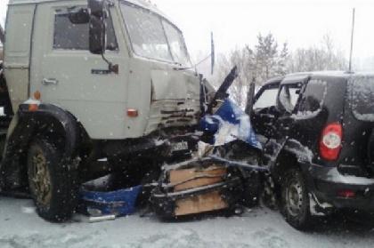 Два человека погибли в итоге ДТП натрассе Екатеринбург-Пермь