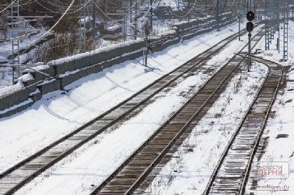 ВПрикамье дети катались сгорки нажелезнодорожные пути