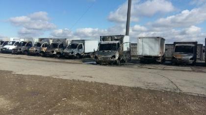 ВПермском крае ночью сгорели неменее 10 «газелей»