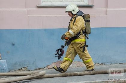 Вдеревне Бахаревка Пермского района напожаре умер мужчина