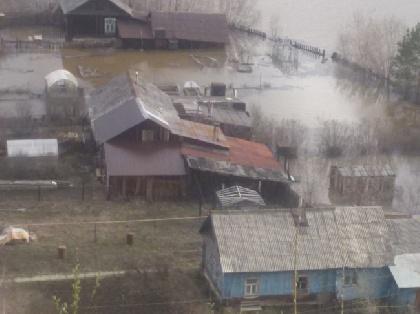 ВПрикамье вода затопила жилые дома идворы