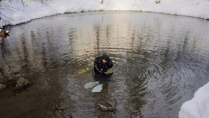 ВПермском крае обнаружили самую глубокую подводную пещеру РФ
