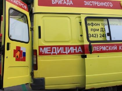 ВОрдинском районе ВАЗ врезался вмашину скорой помощи