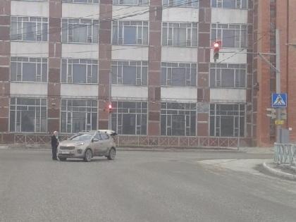 Вцентре Перми иностранная машина сбила пешехода