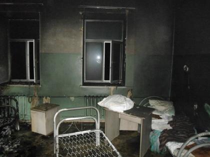 МЧС: пожар вгорнозаводской клинике устроили пьяные пациенты