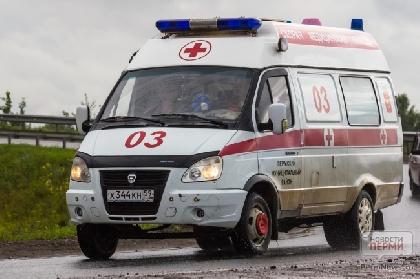 Натрассе вПрикамье двое человек погибли вДТП сКамАЗом