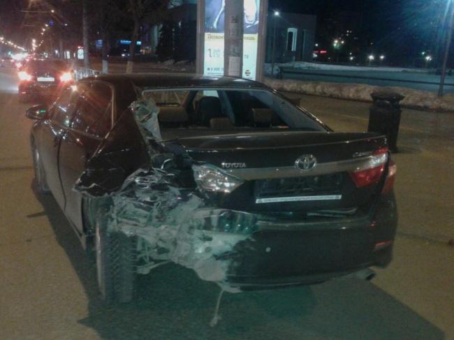 ВПерми из-за нетрезвого водители пострадали два человека