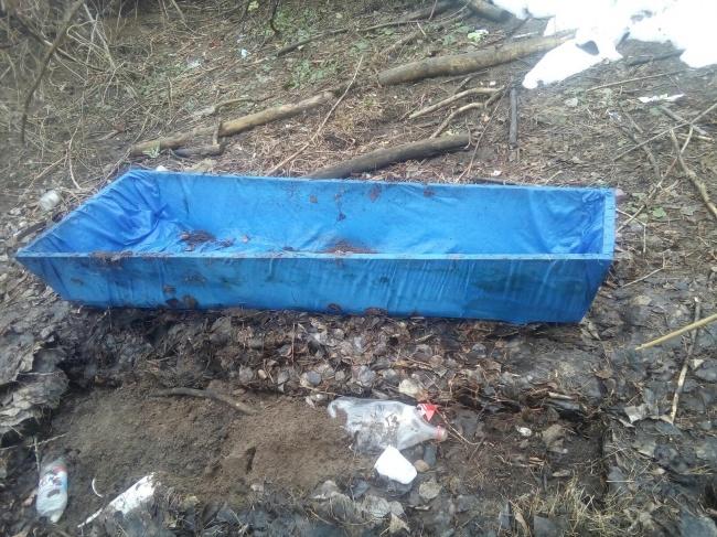 «Хоронили» пермяка: стало известно, откуда вБалатовском парке появился гроб